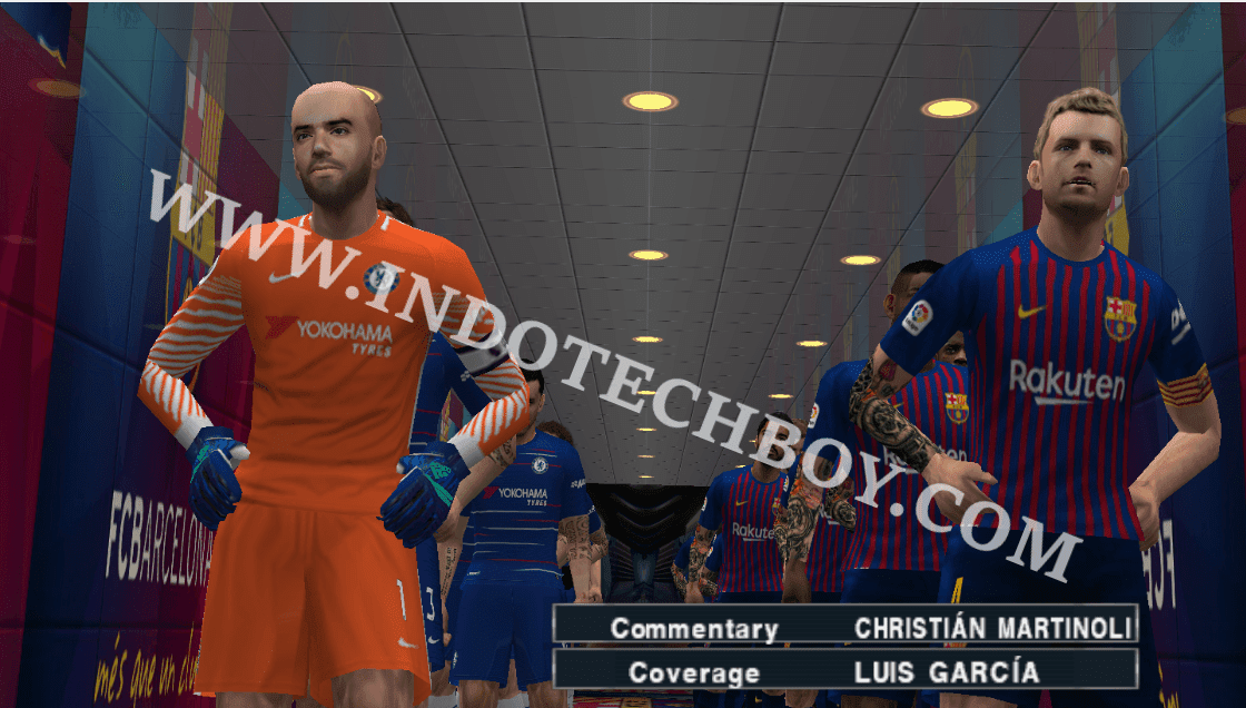 HD Textures Pack for PES 2018 Chelito 19 v4 PSP PPSSPP ROM Game