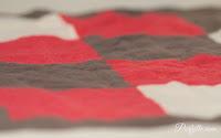 Quilt squares close-up