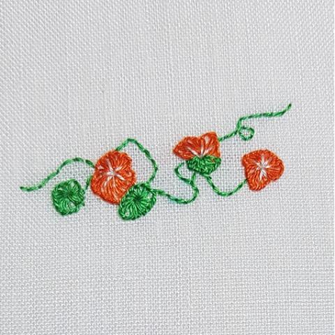 Mẫu thêu hoa nhí đẹp - Hinh 9