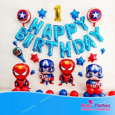 Cửa hàng bán phụ kiện trang trí sinh nhật tại Dịch Vọng Hậu