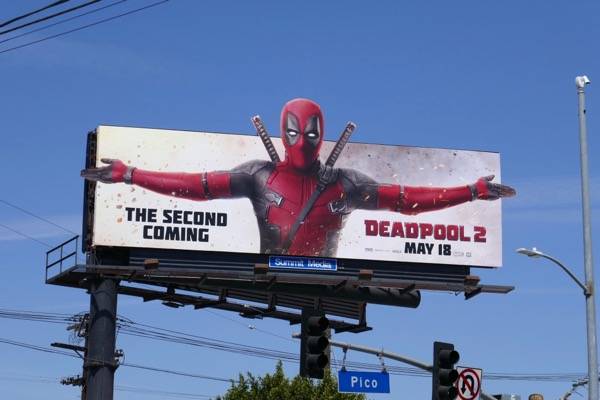 Deadpool 2 movie billboard