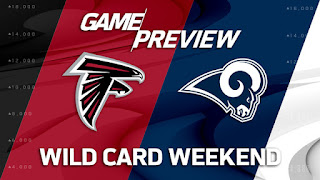 Falcons Rams NFL Playoffs Wild Card Simulation