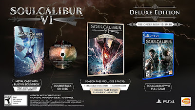 Soulcalibur 6 Game Cover Ps4 Deluxe Edition Features