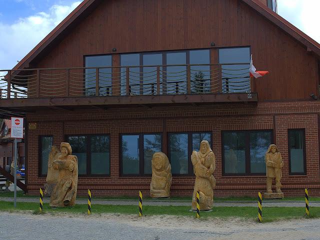kaszubskie rzeźby w drewnie, ekspozycja