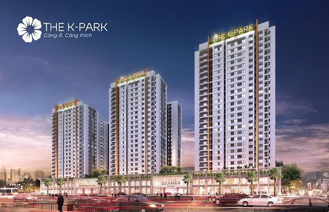 Phối cảnh tổng thể chung cư The K Park Văn Phú