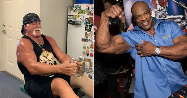 Hulk Hogan Shouts Out To Ronnie Coleman In New Workout Video