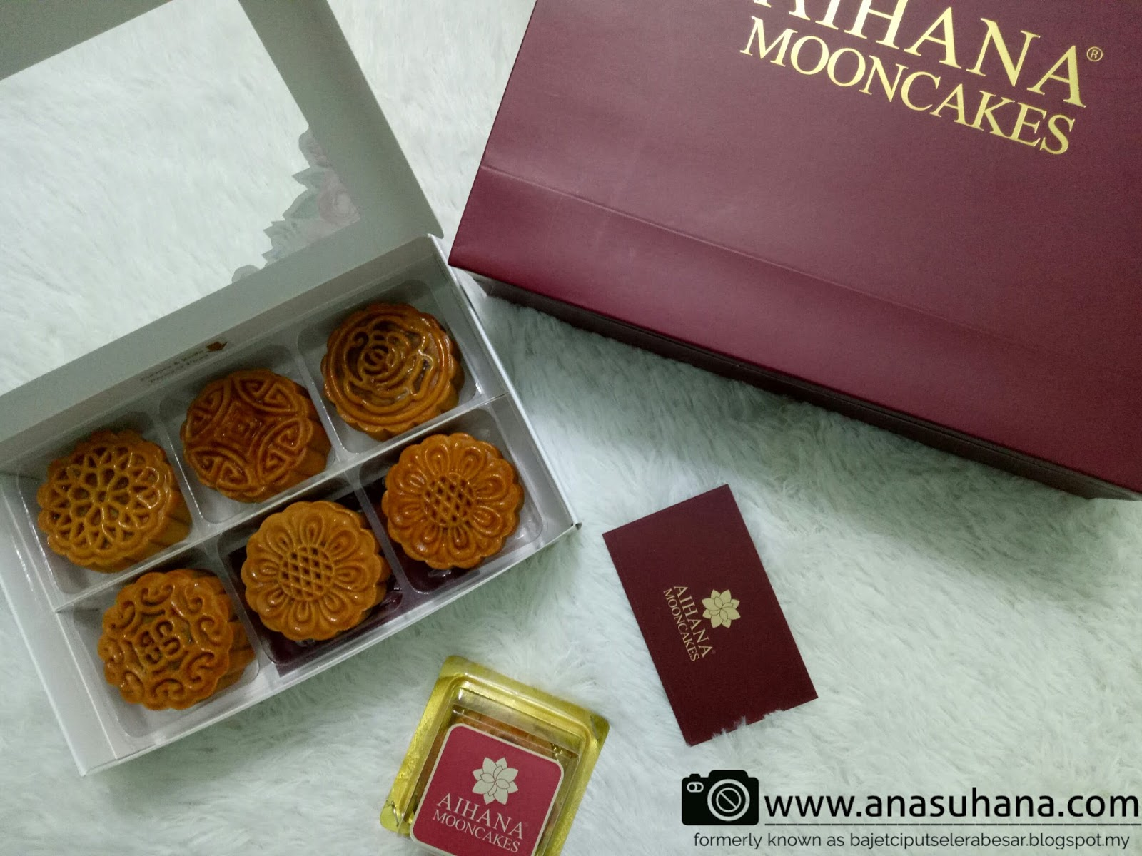 Halal Premium Homemade Mooncake by Aihana Mooncakes