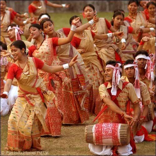 Rongali or Bohag Bihu Stock Photos Free Download