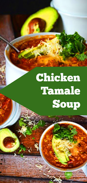 Chicken Tamale Soup | recipes dinner | dinner recipes for two | dinner recipes for family | recipes whole30 #recipes #dinner #chicken #tamale #soup