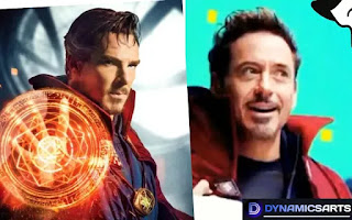 Watch Robert Downey Jr wearing Dr Strange Suit share on Halloween