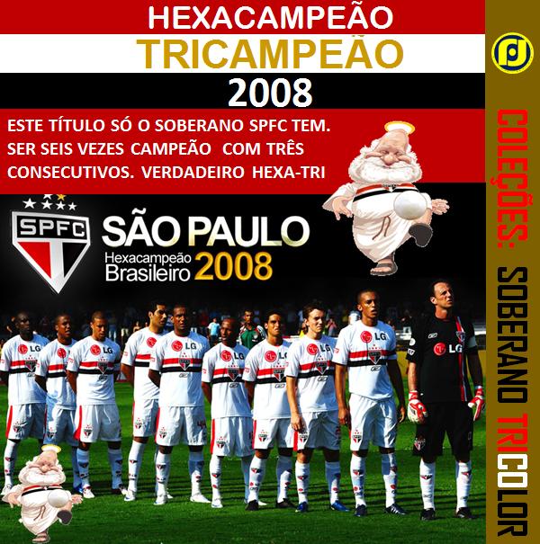 SPFC - Seis Vezes Tricolor
