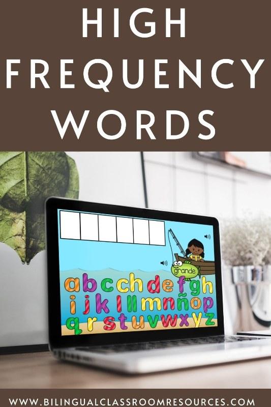 High Frequency Words l Construye palabras de uso frecuente