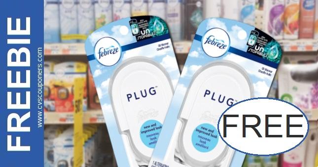 FREE Febreze Plug Oil Warmers at CVS 1-31-2-6