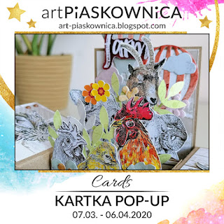 CARDS - kartka pop-up