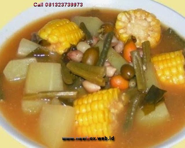Resep sayur asem sunda ala rumah makan ciwidey