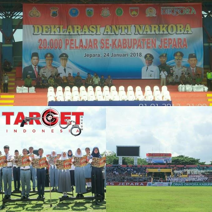 Deklarasi Anti  Narkoba Seluruh Pelajar Kabupaten Jepara