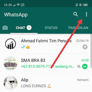 cara pakai whatsapp web android