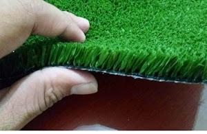Cara Membersihkan Rumput Sintetis