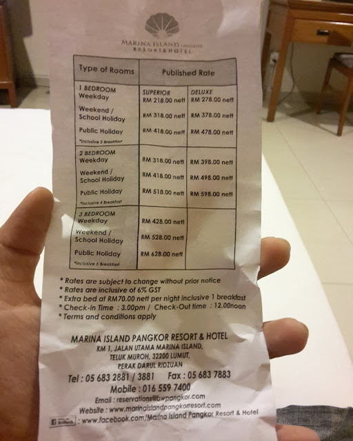 Bermalam dan Bercuti di Marina Island Pangkor Resort & Hotel Lumut