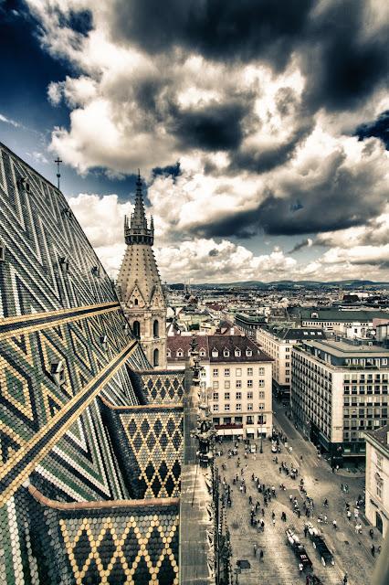 Panorama dal Duomo (Stephansdom)-Vienna