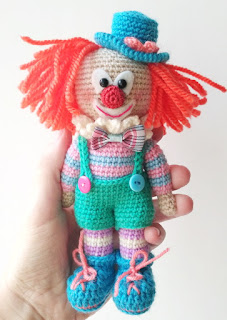 Funny Clown Crochet // Pattern