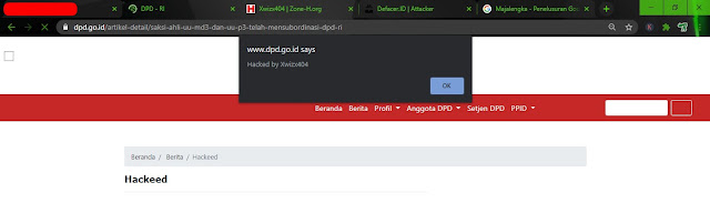 Situs DPD RI Diretas by xwizx404