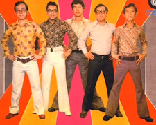 FASHIONABLE BAND BOYS FROM SINGAPORE 60S