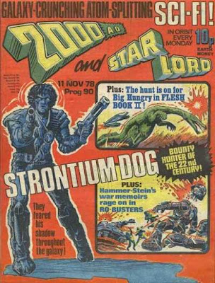2000 AD, Prog 90, Strontium Dog