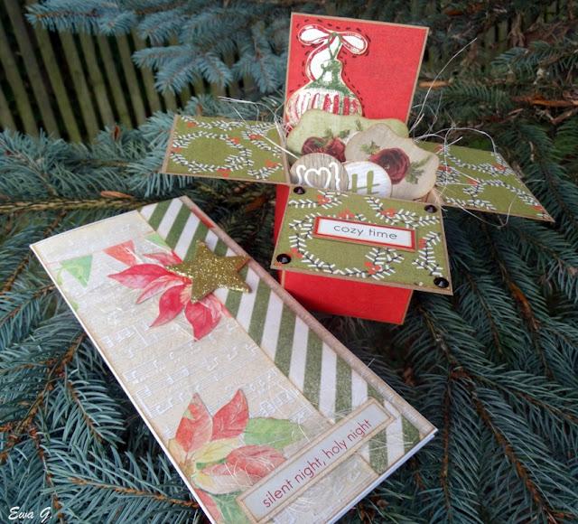 Lipcowe kartki bożonarodzeniowe