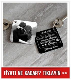Evimizin Anahtarı İkimizde de Olsun Anahtarlık