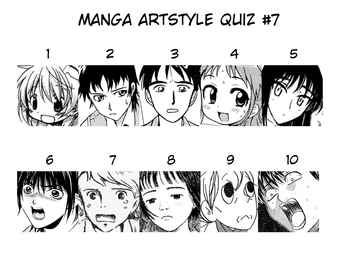 Hox Scanlations: Manga Quiz