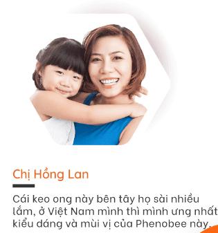 Review chị Hồng lan  đã sử dụng keo ong xịt trị viêm họng phenobee