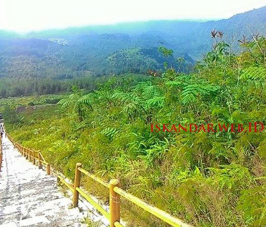 pemandangan alam gunung galunggung