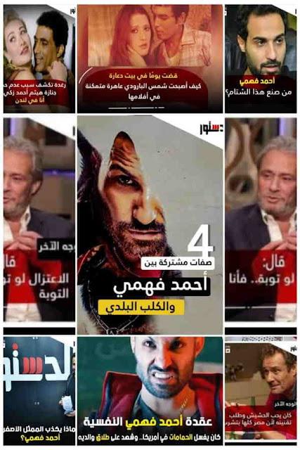 احمد فهمي يهاجم الدستور