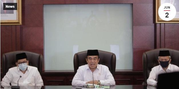 Menteri Agama RI Pastikan  Pembatalan Keberangkatan Jemaah Haji 1441H/2020