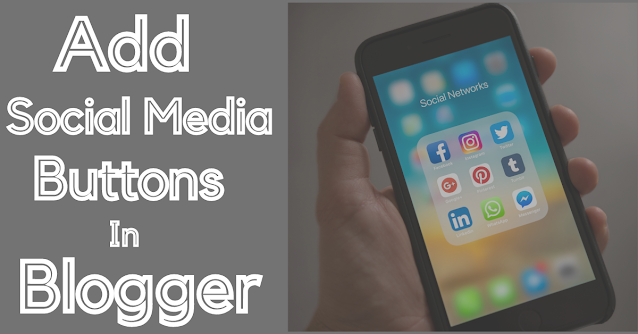 (Full Code)How to Add Social Media Icons In Blogger In One Click