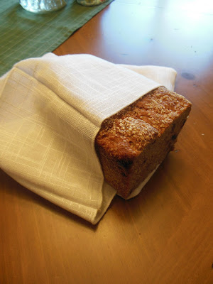 Craft a Linen Bread Bag from Napkins, the perfect project with vintage linens.