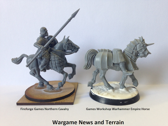 FORGOTTEN WORLDS FIREFORGE GAMES NORTHMEN CAVALRY 28MM