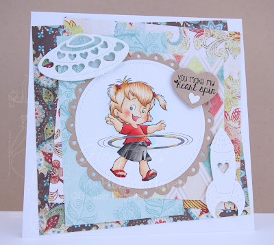 Heather's Hobbie Haven - Hoola Twila Card Kit