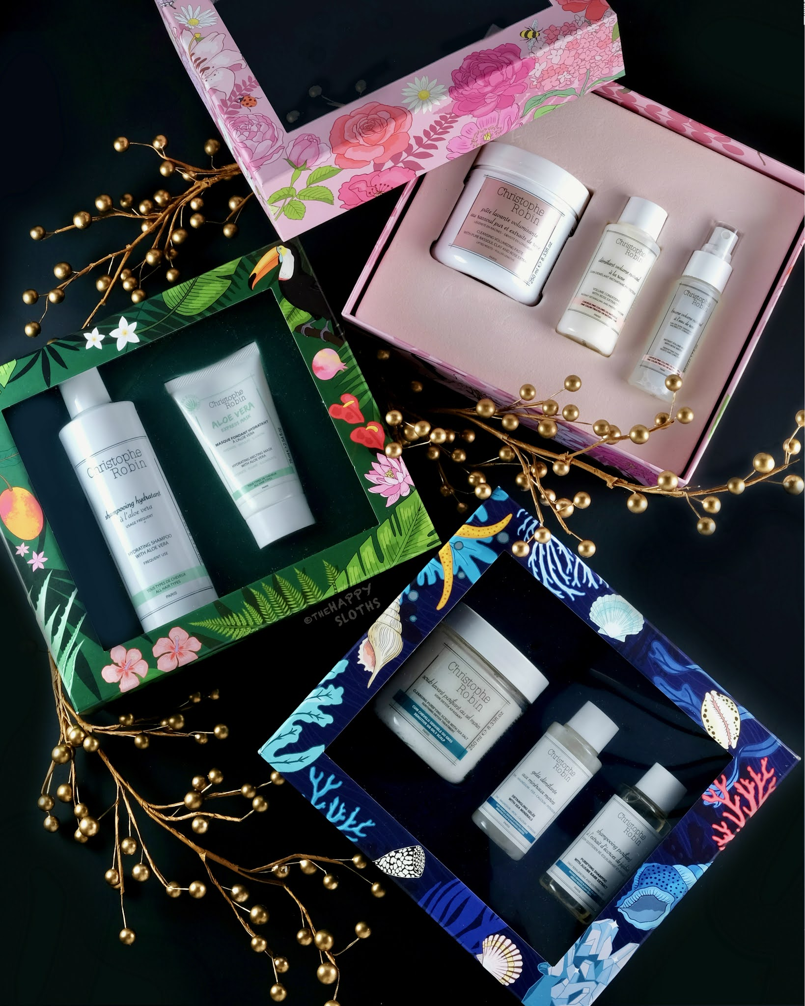 Christophe Robin | Holiday 2020 Gift Sets
