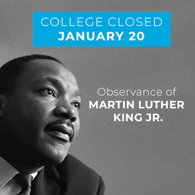 Graphic of MLK