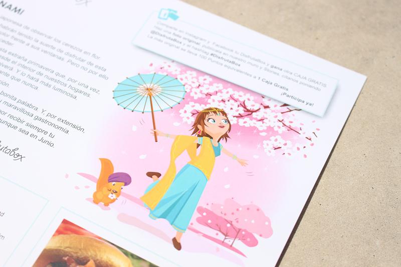 Disfrutabox ilustración