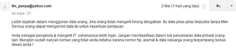 Pernyataan Resmi Loker Banda Aceh
