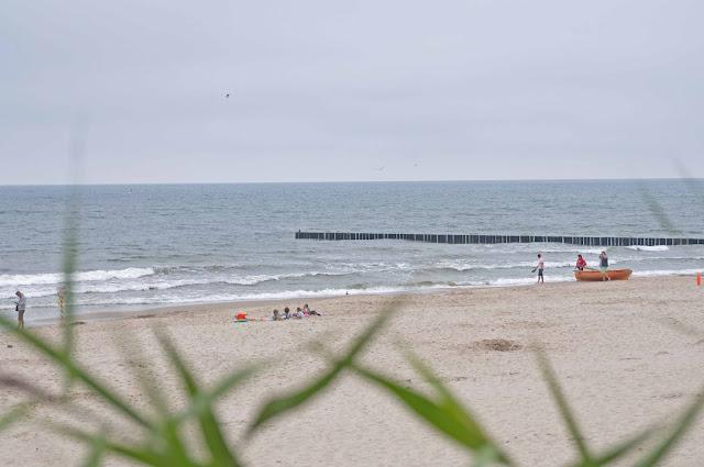 plaża w Niechorzu jak wygląda, widok na morze