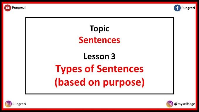 3. Types of Sentences (based on purpose)