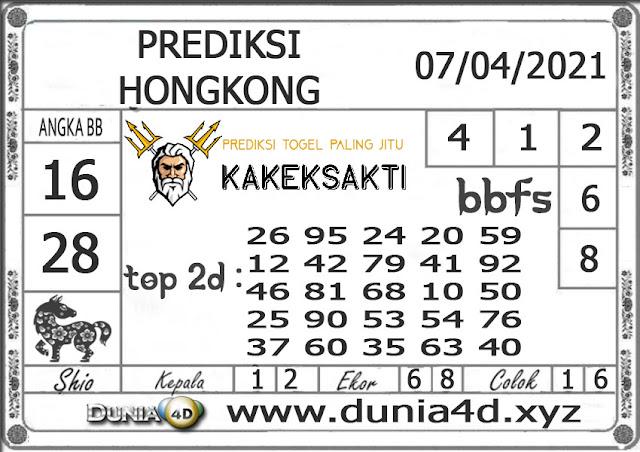 Prediksi Togel HONGKONG DUNIA4D 07 APRIL 2021