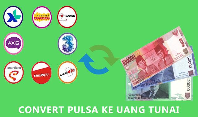 Cara Convert Pulsa Menjadi Uang Tunai Dengan Mudah Dan Terpercaya