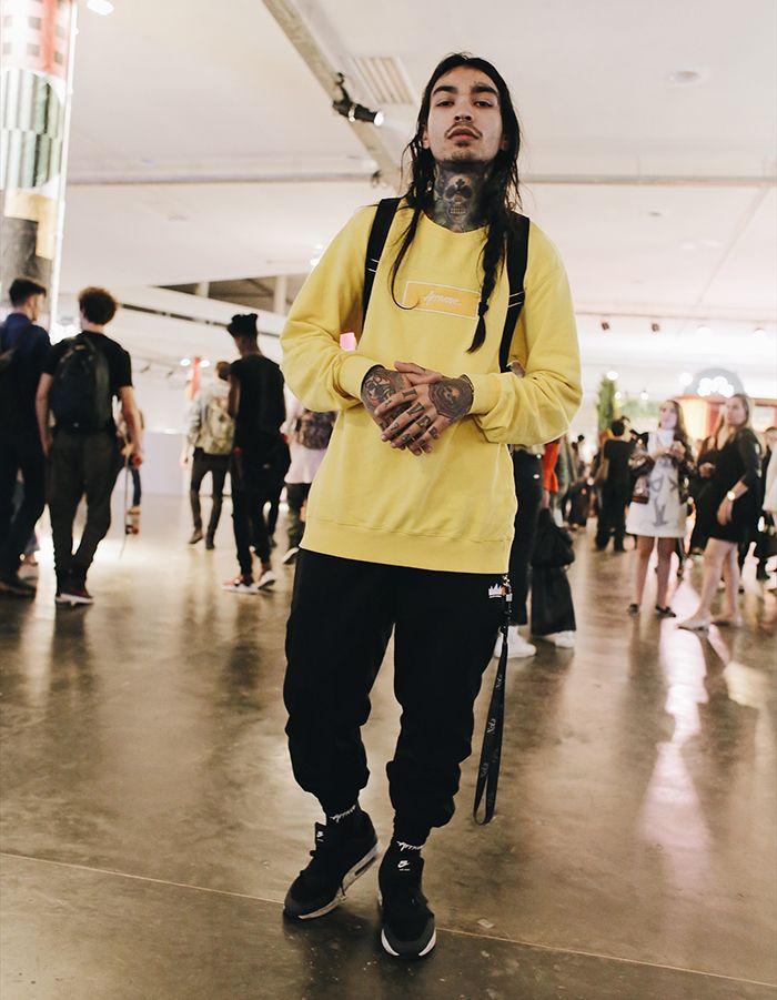 moda masculina tom amarelo