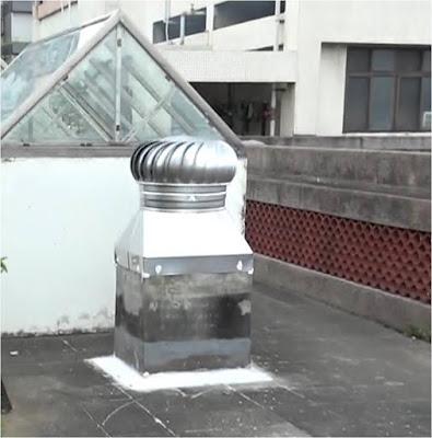 頂樓抽風設備