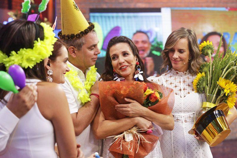 Así fue el adiós de Karla Constant en pantalla